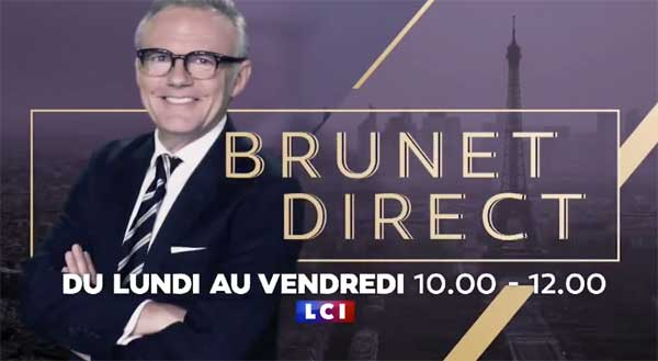 Brunet Direct sur LCI