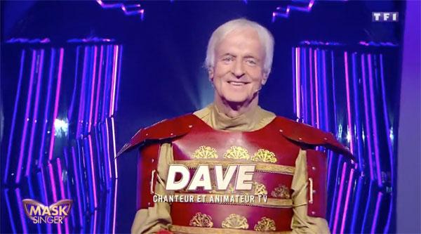 Dave mask singer