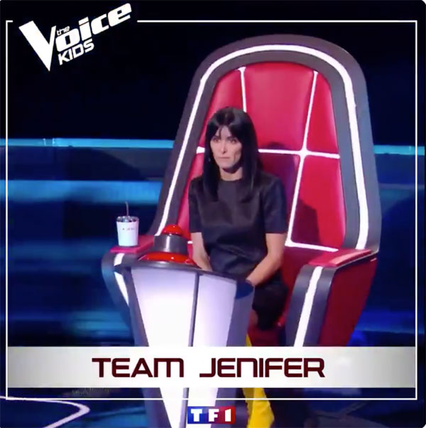 Jenifer the voice kids