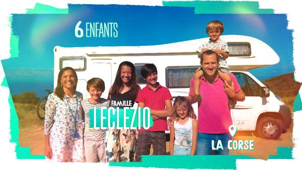Famille Leclezio TF1