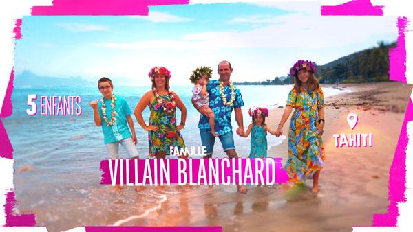 Famille Villain Blanchard TF1