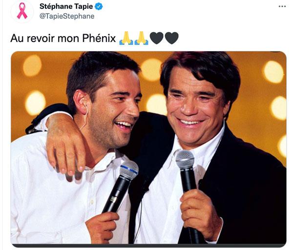 Bernard Tapie mort